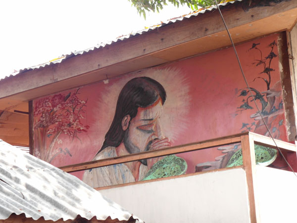 Catholic kitsch in Saumlaki, Tanimbar